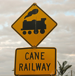 Bundaberg - sugar train crossing