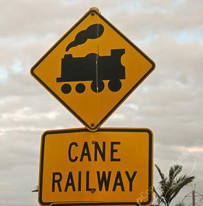 Bundaberg - sugar train crossing