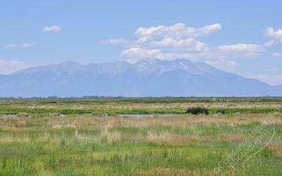 Monte Vista Wildlife Refuge - Mount Blanca