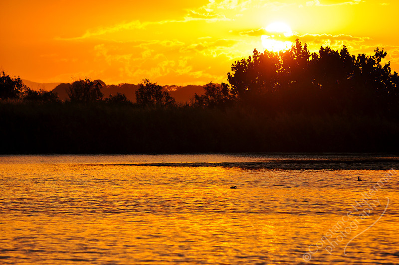 Bribie Island - Buckley's Hole sunset